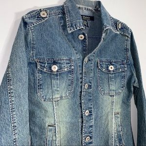 Blue Point Jackets & Coats - Blue Point Denim Jacket-L